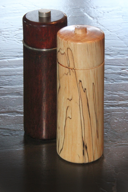 Spalted Maple Salt Shaker Mar 2015