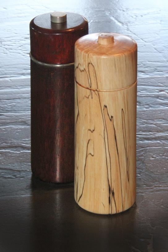Spalted Maple Salt Shaker Mar 2015
