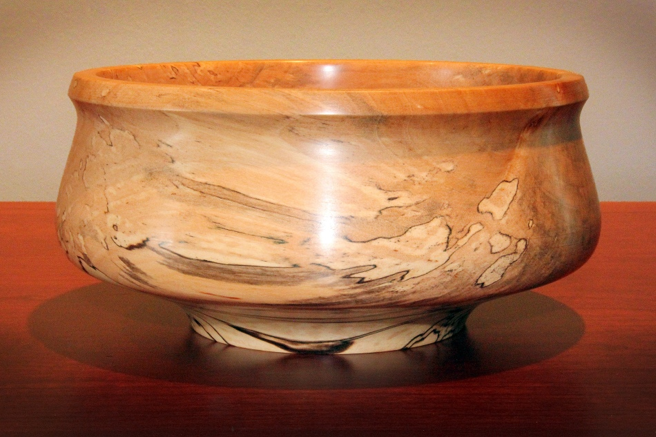 Spalted Sycamore Bowl A Oct 2015